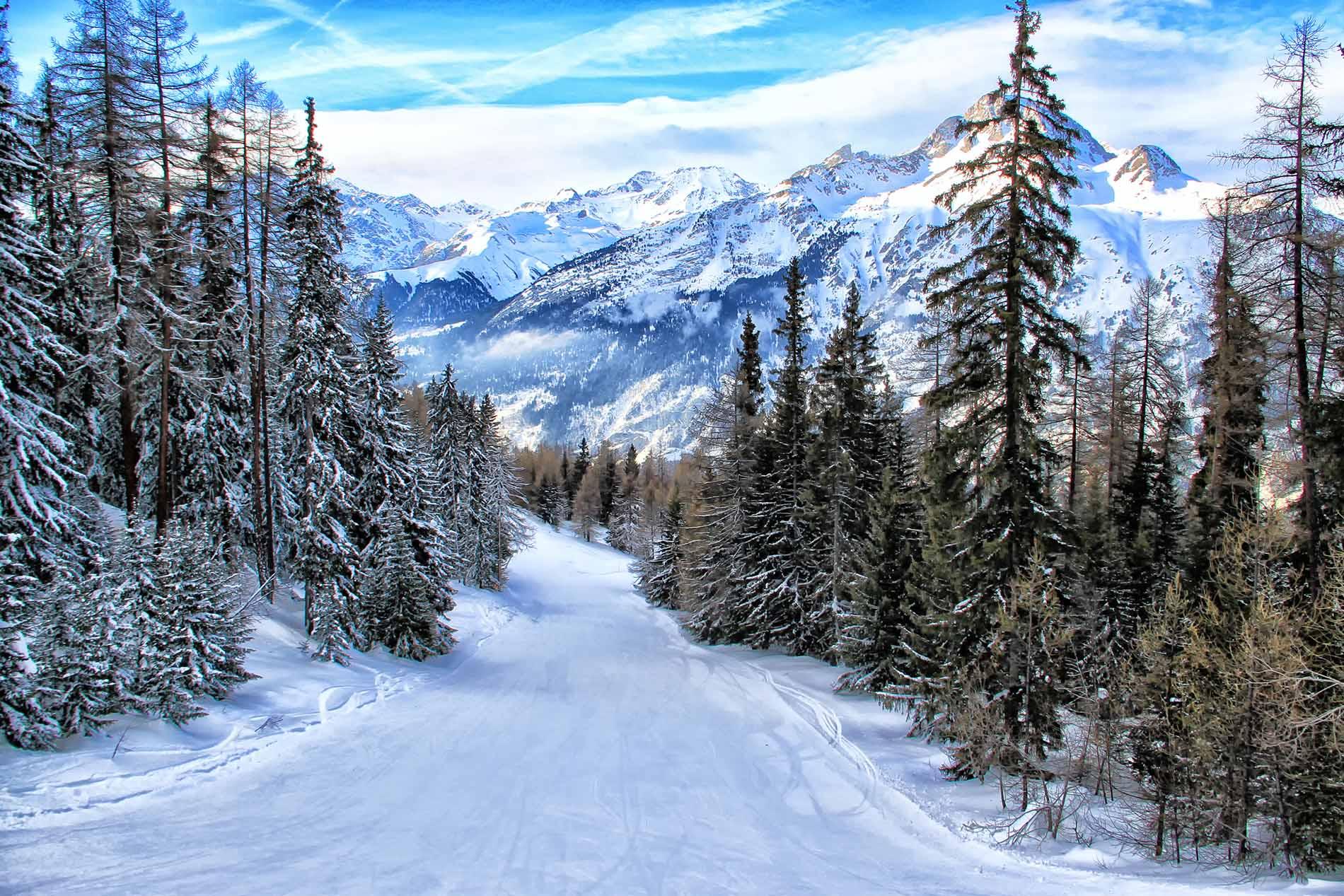 Réservations station la Norma  - sur les pistes de ski