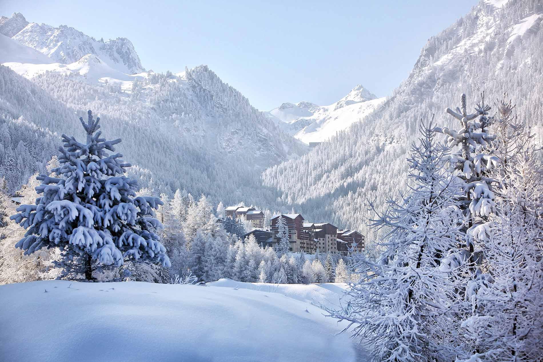 Location Valfrejus hiver