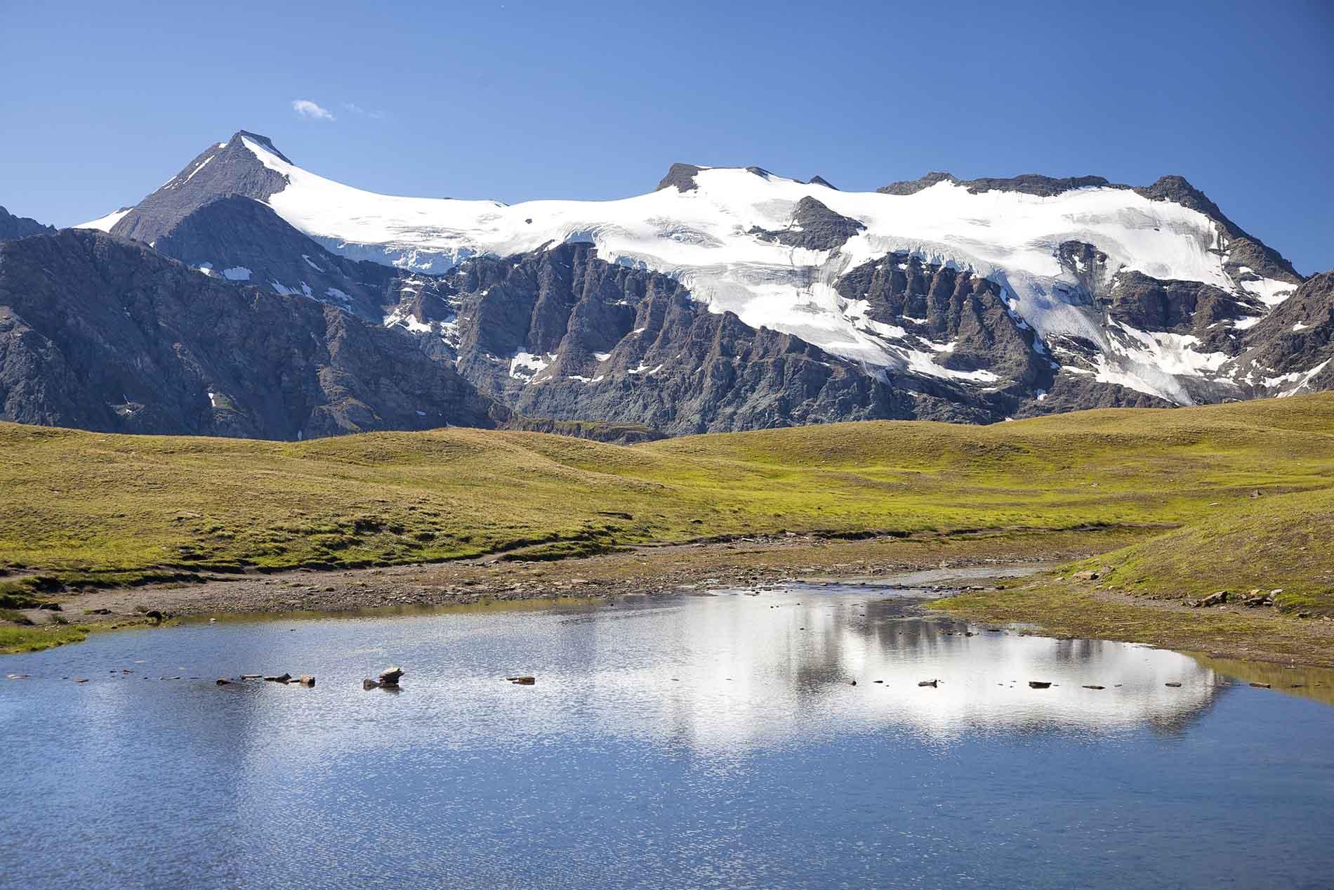 L'albaron et les glaciers du vallonet 3637 m