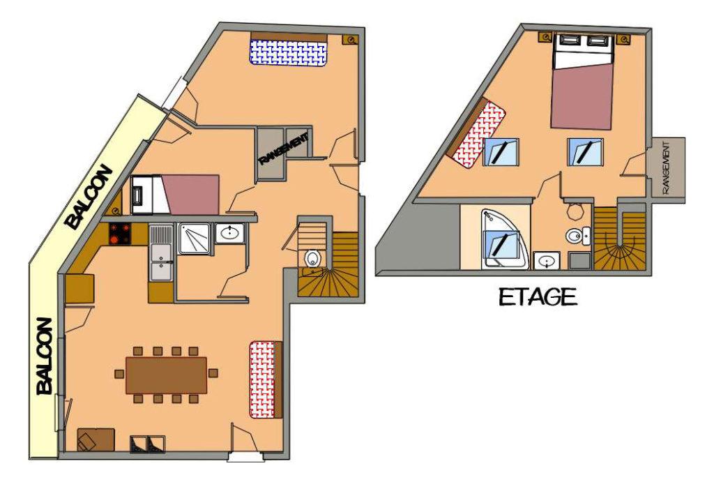 plan location appartement TRI20